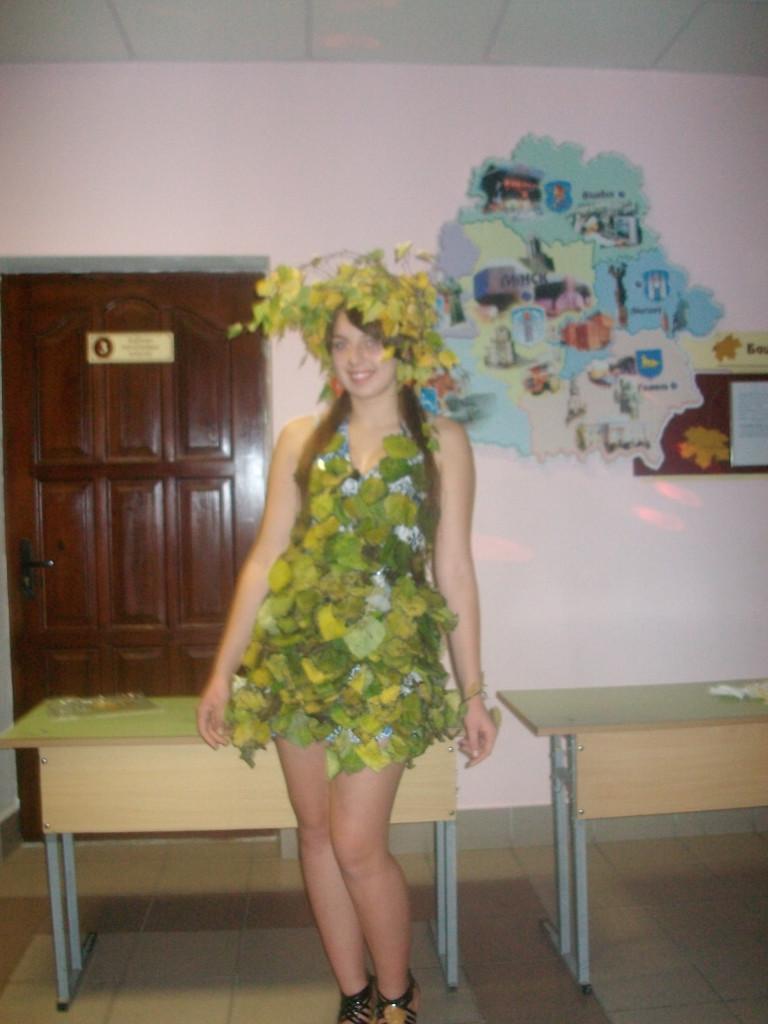 Как сделать костюм для осеннего бала